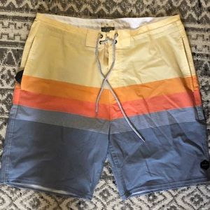 Rip curl boardshorts with side pockets size 32